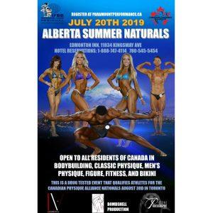 2019 CPA Alberta Summer Naturals
